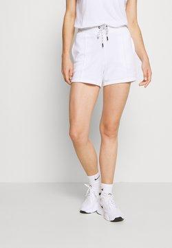 DKNY - MINI LOGO SHORT - Urheilushortsit - white