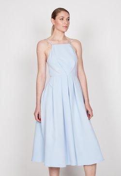 True Violet - STRAPPY SKATER - Cocktailkleid/festliches Kleid - light blue