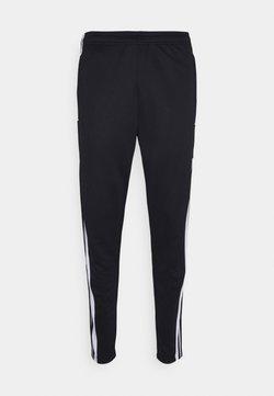 adidas Performance - SQUAD - Pantalones deportivos - black/white
