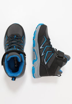 Hi-Tec - TRIO WP - Outdoorschoenen - dark grey/black/lake blue