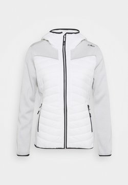 CMP - WOMAN JACKET FIX HOOD - Outdoorjacke - white