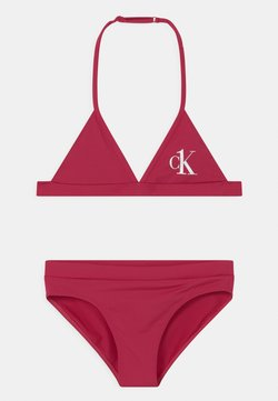 Calvin Klein Swimwear - TRIANGLE SET - Bikini - pink heart