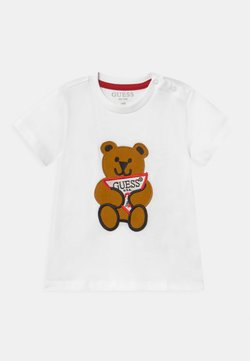 Guess - BABY UNISEX - Print T-shirt - true white
