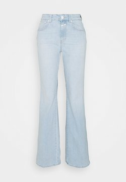 CLOSED - LEAF - Jeans a zampa - light blue