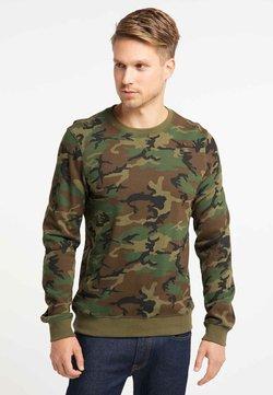 TUFFSKULL - Sweatshirt - olive