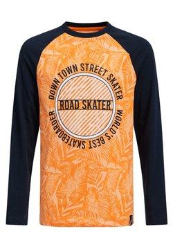 WE Fashion - JONGENS MET DESSIN - Longsleeve - bright orange