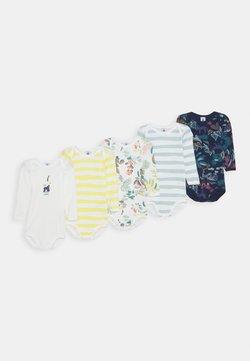 Petit Bateau - BABY BODIES UNISEX 5 PACK - Body - blue/yellow/white