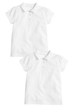 Next - 2 PACK SHORT SLEEVE POLOSHIRTS - Poloshirt - white