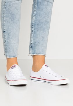 Converse - CHUCK TAYLOR ALL STAR DAINTY BASIC - Matalavartiset tennarit - white/black