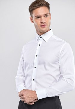 Next - SIGNATURE TEXTURED - Businesshemd - white