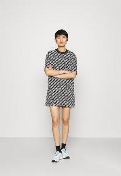 Calvin Klein Jeans - DRESS - Vestido ligero - black/white
