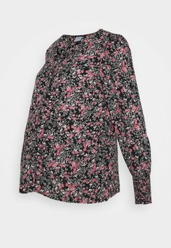 Pieces Maternity - PCMPAOLA  - Bluse - black