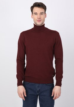 Basics and More - Strickpullover - bordeaux