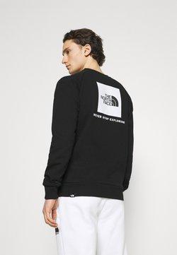 The North Face - RAGLAN REDBOX CREW NEW  - Sweater - black/white