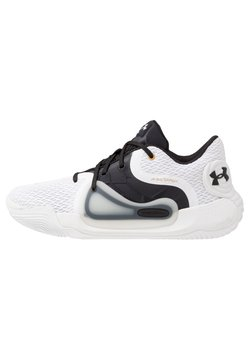 Under Armour - SPAWN 2 - Basketbalschoenen - white/black