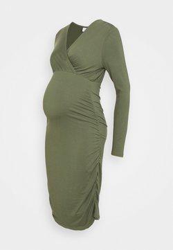 MAMALICIOUS - MLAIMY TESS DRESS - Vestido de tubo - thyme
