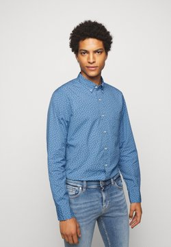 J.CREW - WASHED DAISY DITSY - Hemd - courier blue dickens