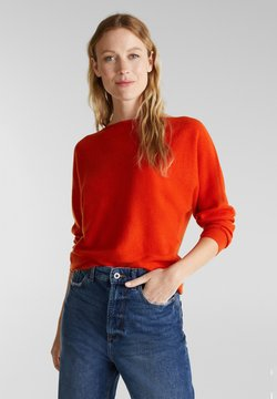 Esprit Collection - Strickpullover - rust orange