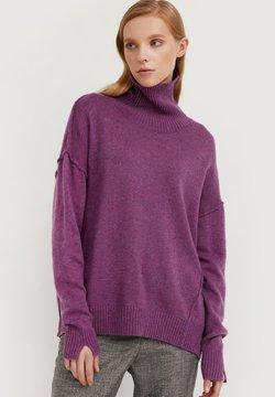 Finn Flare - Strickpullover - violet