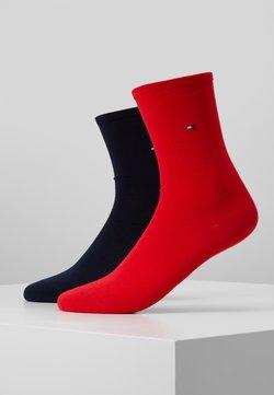Tommy Hilfiger - WOMEN SOCK CASUAL 2 PACK - Socken - red