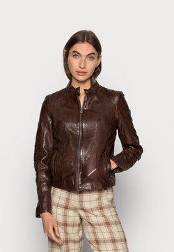 Gipsy - JUANA LONTV - Leather jacket - dark brown