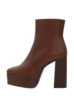 PoiLei - ROBERTA - High Heel Stiefelette - brown