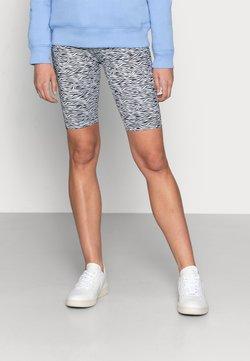 Gestuz - PILO SHORT TIGHTS - Shorts - grey wave