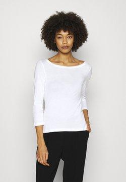 Anna Field - 2 PACK - Maglietta a manica lunga - white/black