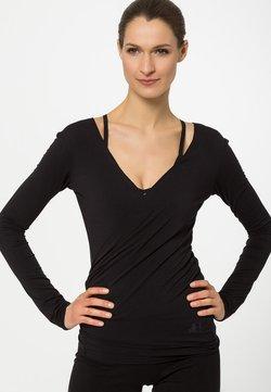 Curare Yogawear - WRAP - Sweatshirt - black