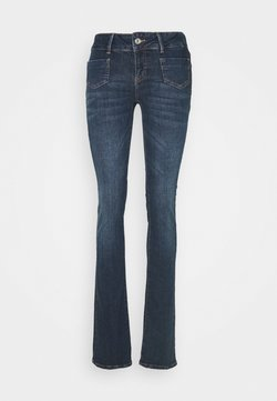 Vero Moda Tall - VMDINA  - Flared Jeans - dark blue denim