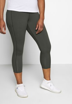 adidas Performance - Tights - legend earth