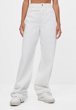 Bershka - Flared Jeans - stone