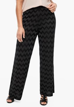 Triangle - Stoffhose - black