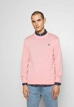PS Paul Smith - CREW NECK ZEBRA - Strickpullover - pink
