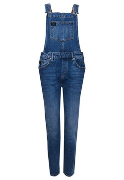 Superdry - Dungarees - light-blue denim