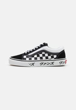 Vans - OLD SKOOL UNISEX - Matalavartiset tennarit - black/true white