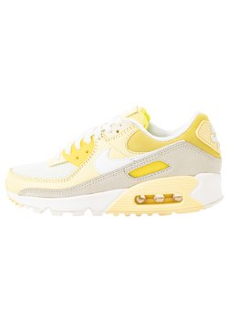 Nike Sportswear - AIR MAX 90 - Sneakers laag - optic yellow/white/fossil/bicycle yellow/sail