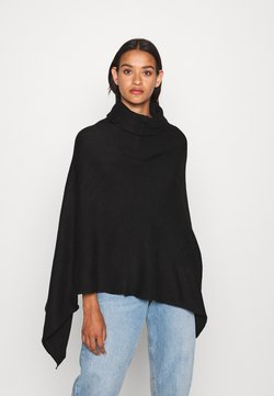 ONLY - ONLELONA PONCHO - Cape - black