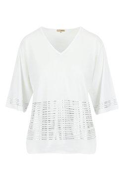 A ka so - MAJI BANGL - Langarmshirt - white