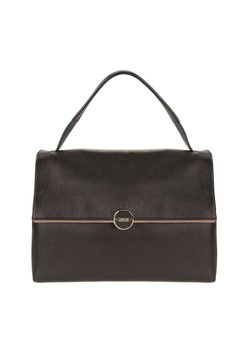 Cinque - CARINA WITH FLAP - Handtasche - black