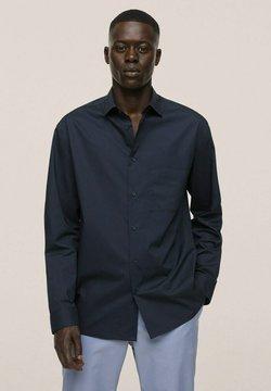 Mango - RELAXED FIT - Businesshemd - dunkles marineblau