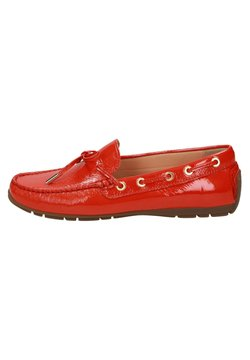 Sioux - CARMONA - Chaussures bateau - red