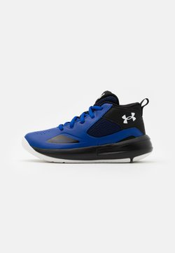 Under Armour - LOCKDOWN 5 UNISEX - Basketbalschoenen - royal