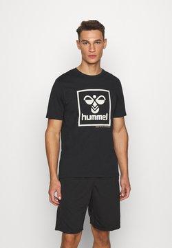 Hummel - HMLISAM - Printtipaita - black