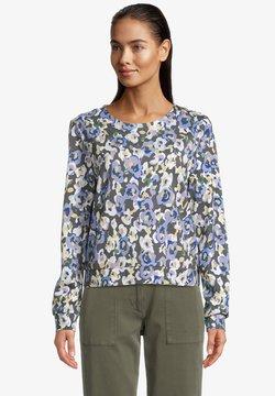 Betty & Co - Sweatshirt - black light blue