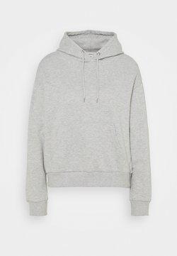 Even&Odd Petite - Hoodie - mottled light grey