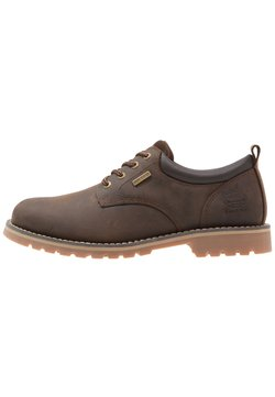 Dockers by Gerli - Sportieve veterschoenen - cafe
