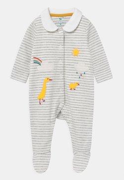 Frugi - COLLARED BABYGROW UNISEX - Pijama de bebé - grey marl