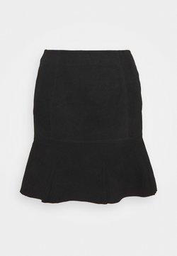 YAS - YASCOLLY SKIRT  - Mini skirt - black