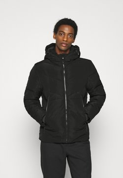 TOM TAILOR DENIM - HEAVY PUFFER JACKET - Winterjacke - black